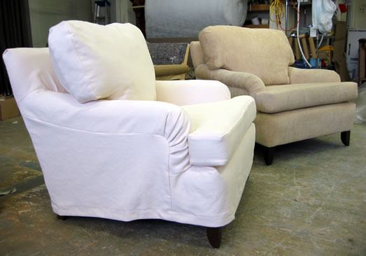 Wellington Slipcover Chairs
